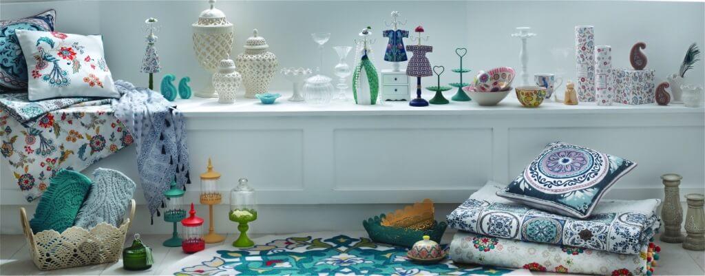 Середземноморський стиль в новій колекції текстилю та аксесуарів English Home