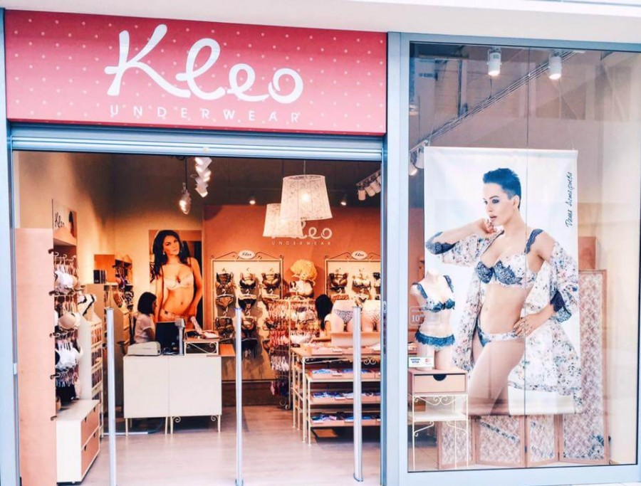 The opening of underwear shop Kleo