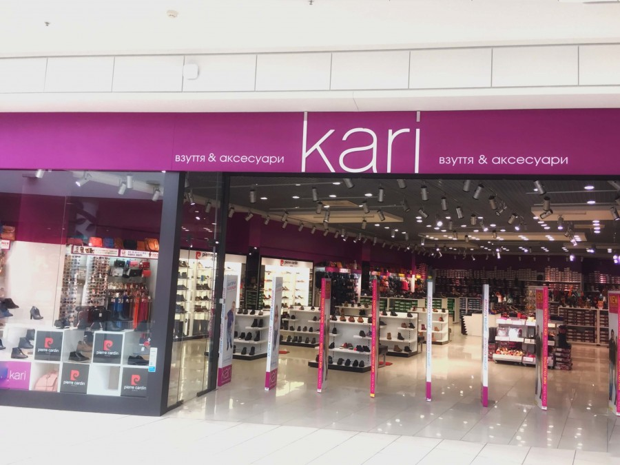 The opening of footwear and accessories store kari