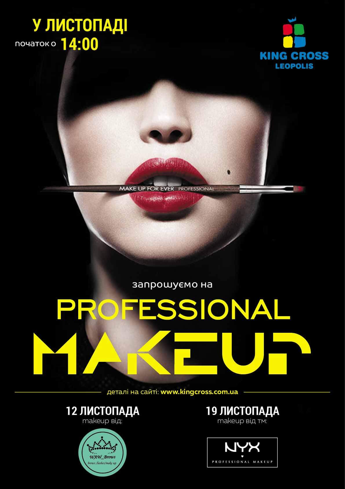 Professional make-up forever!