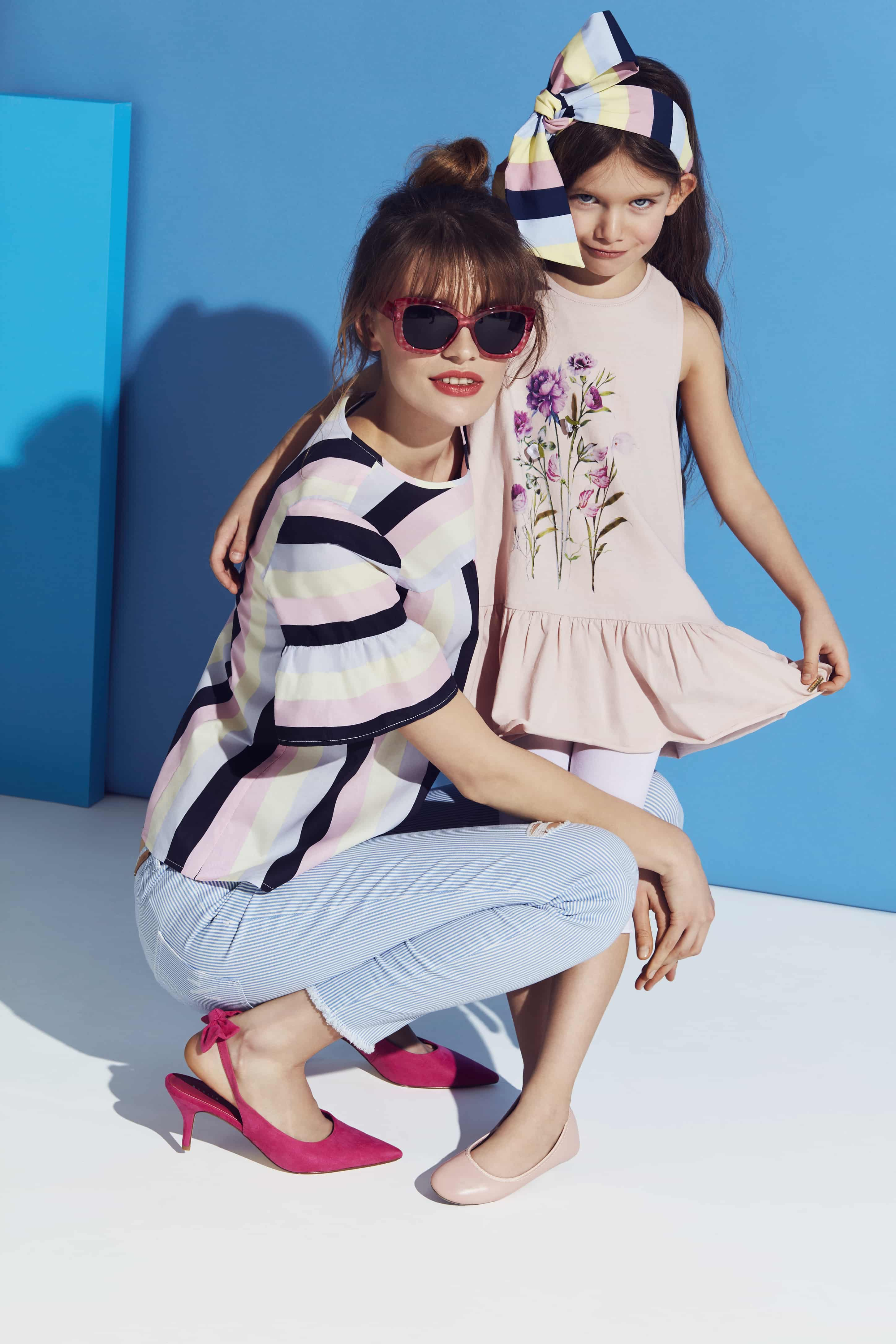 MOHITO FOR MOTHER AND DAUGHTER. LITTLE PRINCESS SUMMER COLLECTION