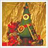 """9-19 грудня -  виставка-продаж """"Авторських ялинок"""" у ТРЦ King Cross Leopolis."""