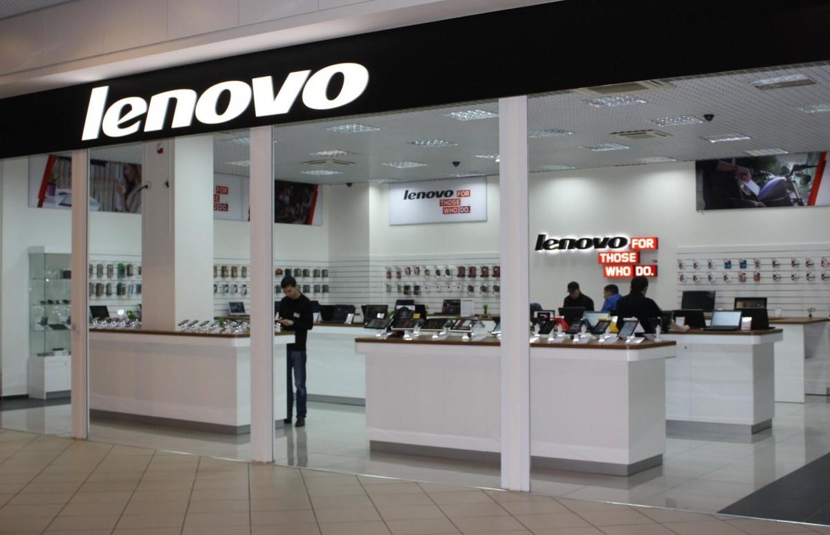 Відкриття магазину Lenovo у ТРЦ King Cross Leopolis