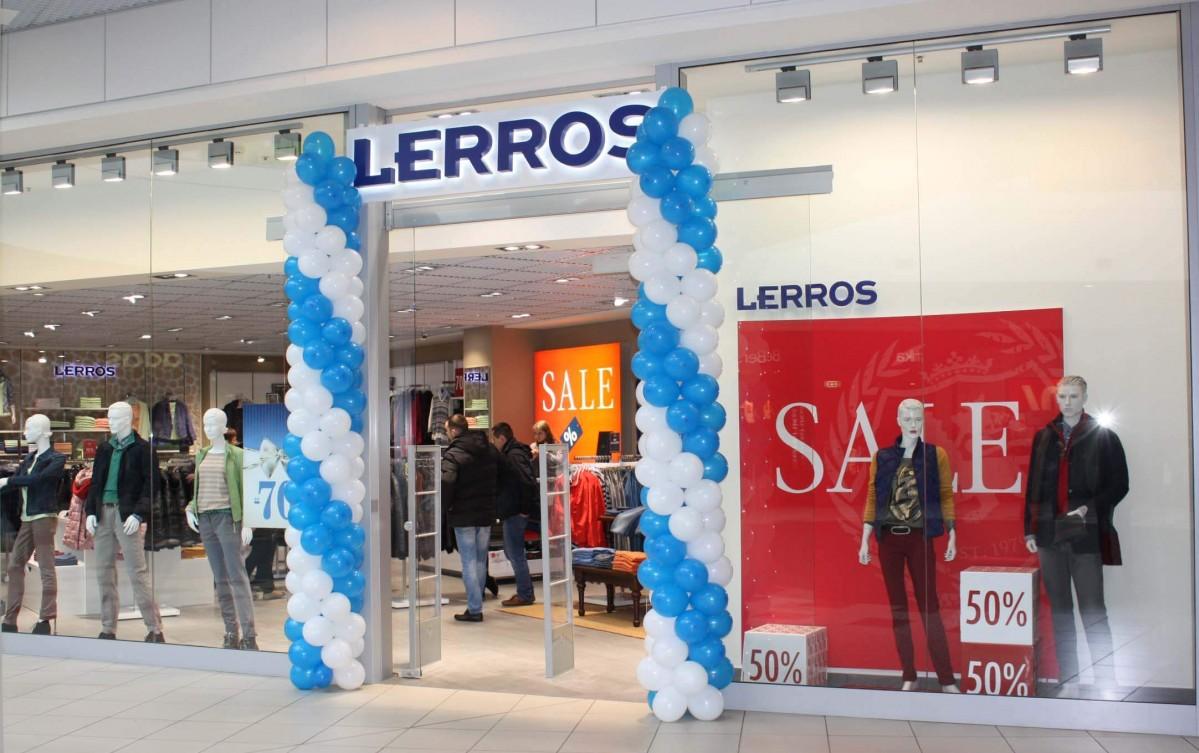 """30.01.15 - У ТРЦ King Cross Leopolis відбулось відкриття магазину """"Lerros"""""""