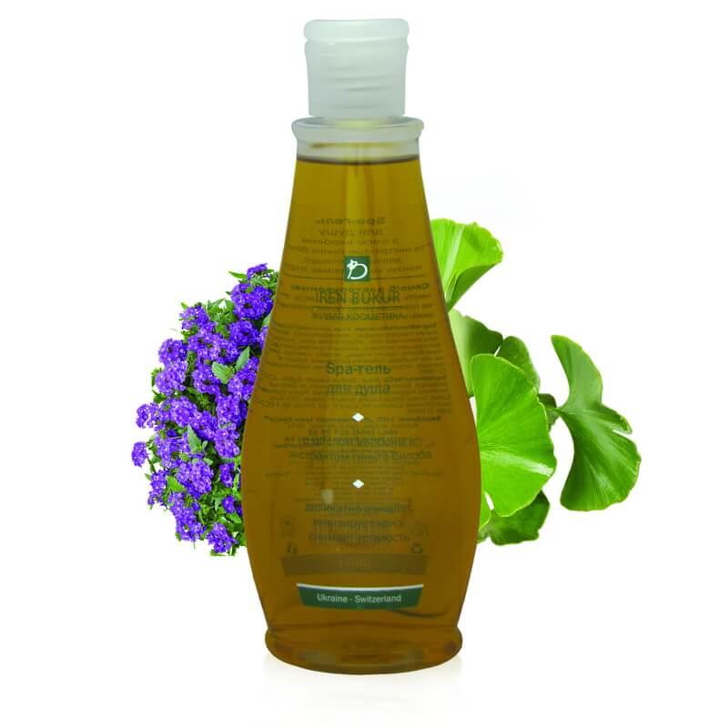 irene bukur_SPA-гель для душу з алое і зеленим чаєм